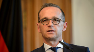 Heiko Maas meets Chinese Foreign Minister Wang Yi
