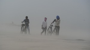 India: Sand storm